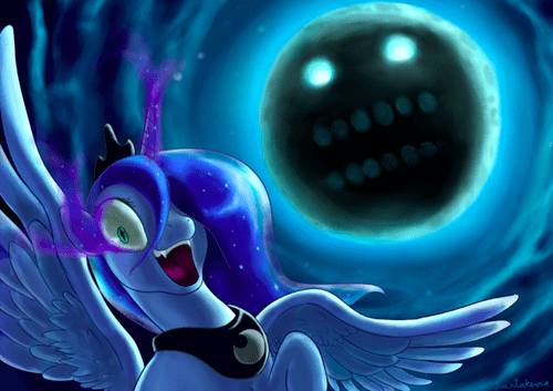 nightmare moon mashup majoras mask luna - 7856984064