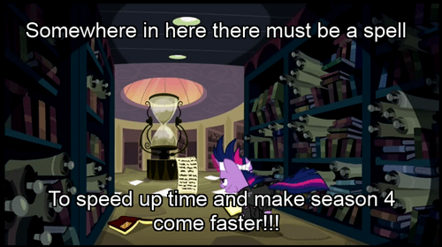 time twilight sparkle cant-wait mlp season 4 - 7857487360
