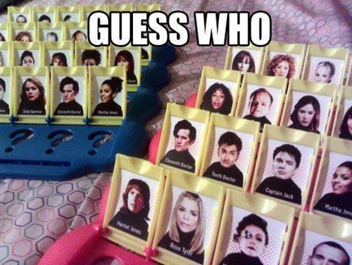 puns guess who doctor who - 7857550336