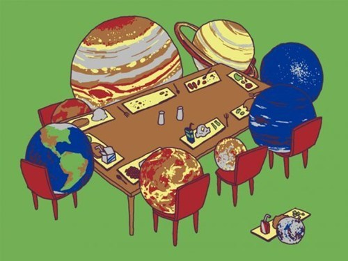 pluto art planets funny - 7857823232