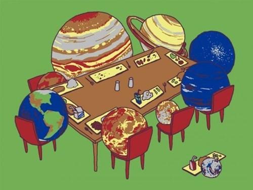 pluto art planets funny - 7857823232