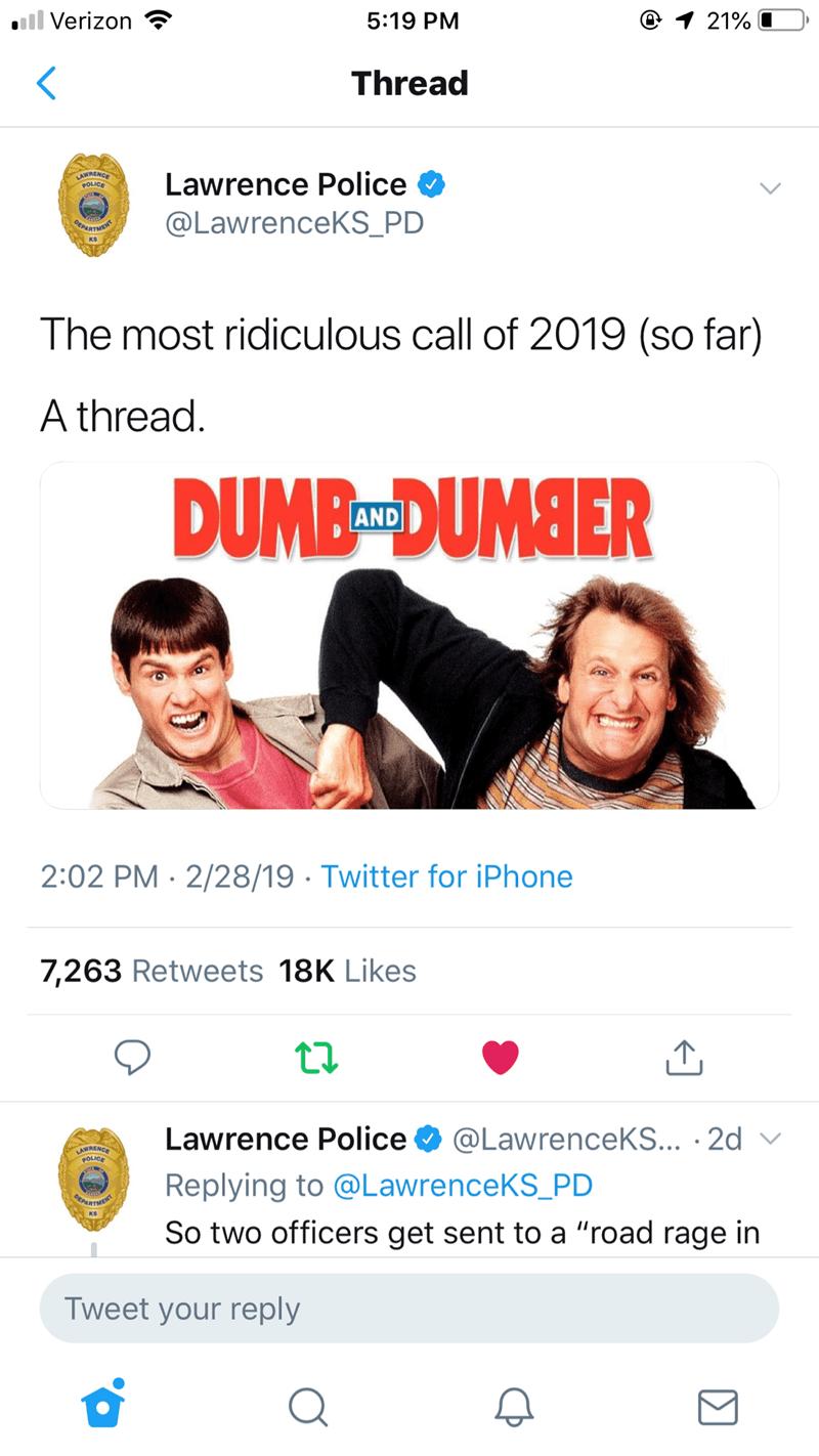 twitter 2019 dumb people funny police stupid people lawrence funny tweets lawrence police funny - 7857925
