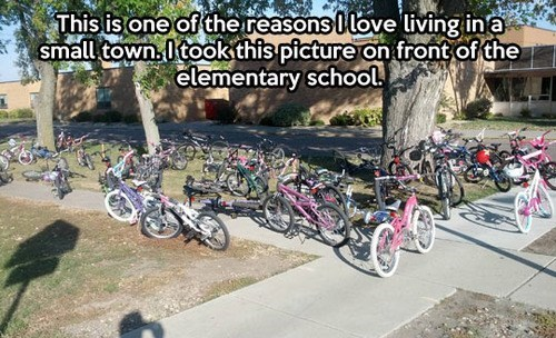 school kids bikes funny - 7857972992