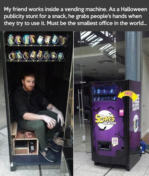 vending machines,halloween,haunted vending machine