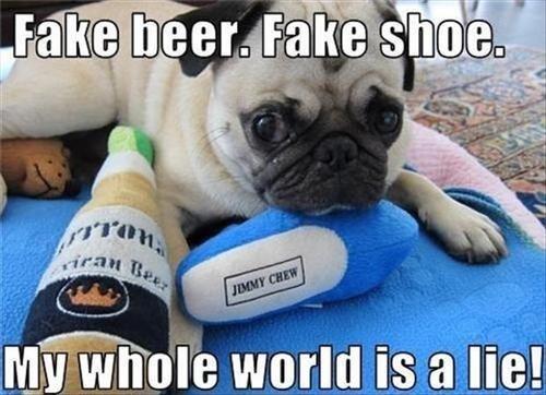 dogs toys lies fake - 7858040320