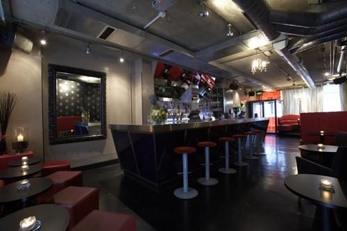 SoHo London pub of the week bar red
