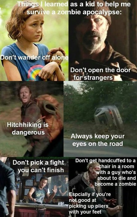 lessons andrea The Walking Dead - 7858117120