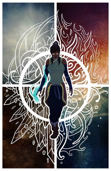 Fan Art cartoons Avatar korra - 7858124288