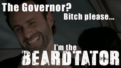 the governor rick grims beardtator The Walking Dead - 7858125568