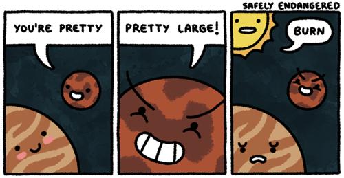 planets puns funny web comics - 7858232832