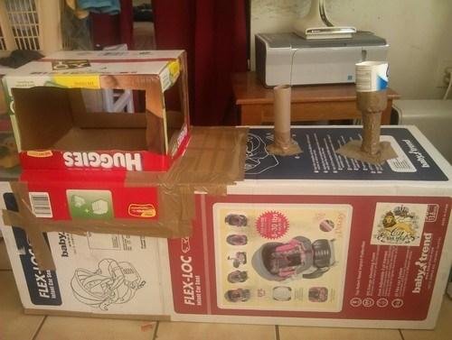 boxes toys kids parenting DIY tape - 7858267648
