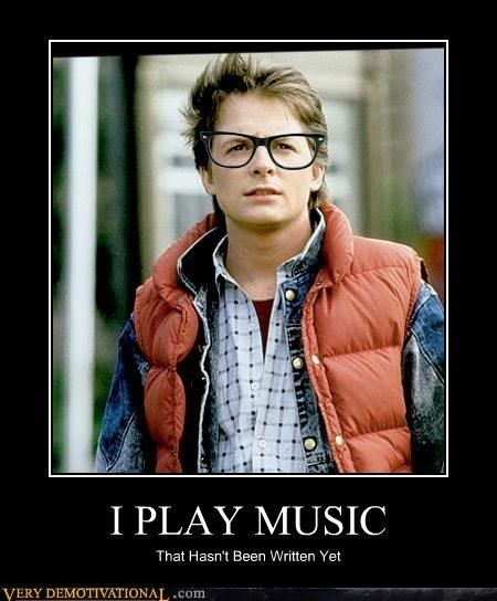 back to the future hipster funny marty mcfly - 7858340608