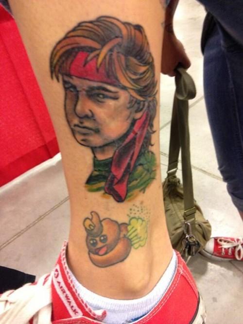 corey feldman,tattoos,poo,funny