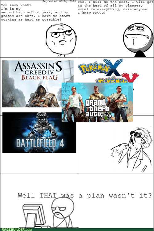determined,pokemon x and y,GTA V,Battlefield 4,video games,assassin's creed 4