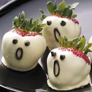 cute ghosts DIY food g rated - 7858459136