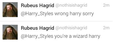 twitter Harry Potter Hagrid - 7858719232