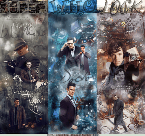 superwholock,Fan Art