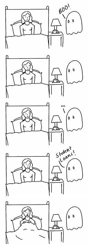 sad but true,ghosts,funny,web comics