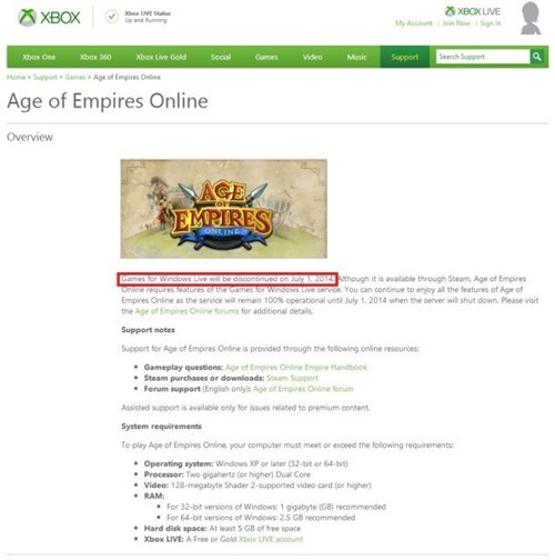 games for windows live age of empires batman Video Game Coverage