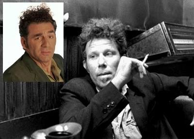 Tom Waits totally looks like cosmo kramer funny