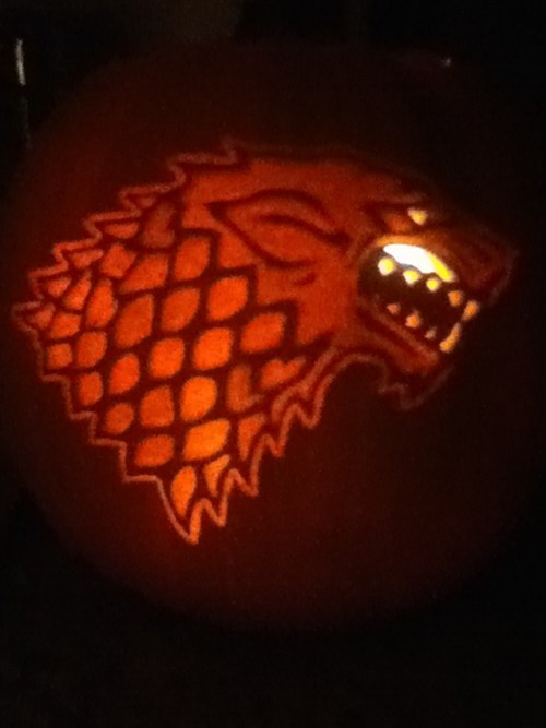 halloween Game of Thrones ghoulish geeks jack o lanterns g rated