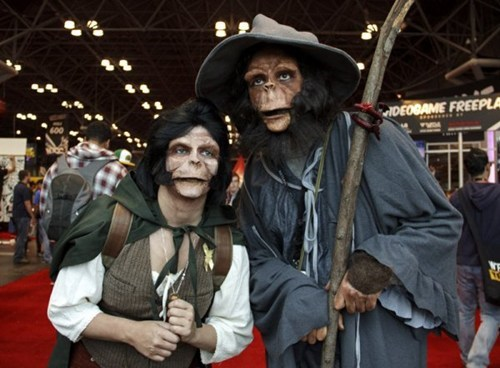 cosplay Planet of the Apes Lord of the Rings - 7859440384