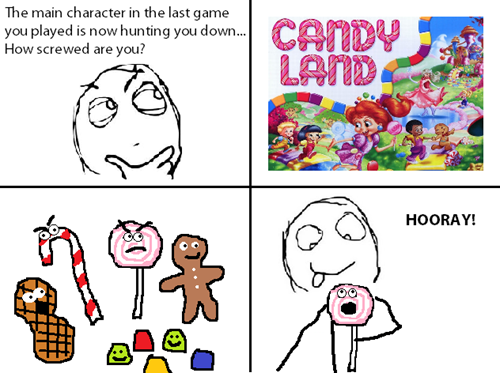 main characters,board games,candy land
