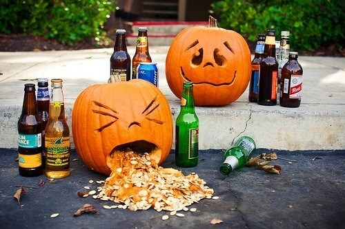 wtf pumpkins drunk halloween funny Spooky FAILs and HalloWINs jack o lanterns g rated - 7859488256