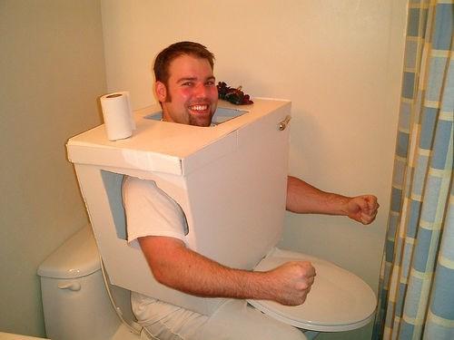 costume halloween toilet idiots funny - 7859505408