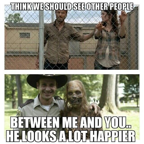 Rick Grimes see other people lori grimes The Walking Dead - 7859511552