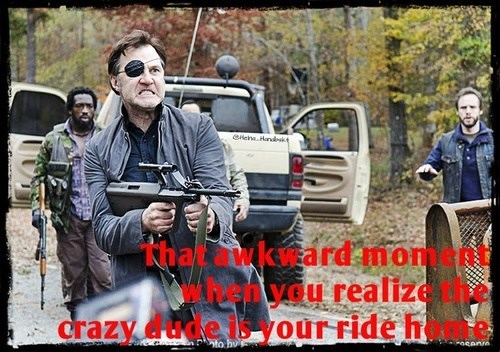 crazy the governor The Walking Dead - 7859515136