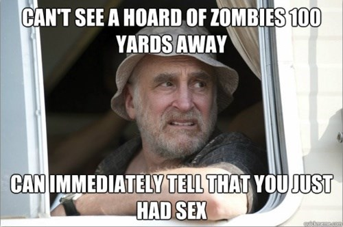 sex,Dale Horvath,The Walking Dead