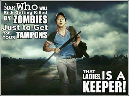 Glenn Rhee The Walking Dead he's a keeper - 7859520768