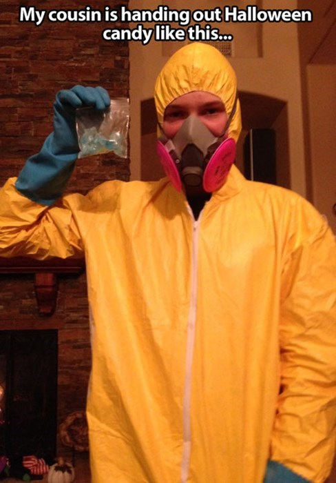 trick or treating breaking bad halloween parenting poorly dressed g rated