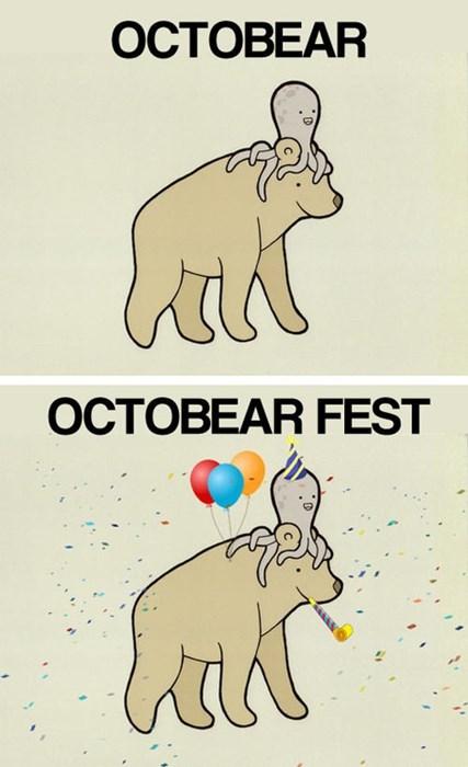 bears octopus comic funny - 7859563776