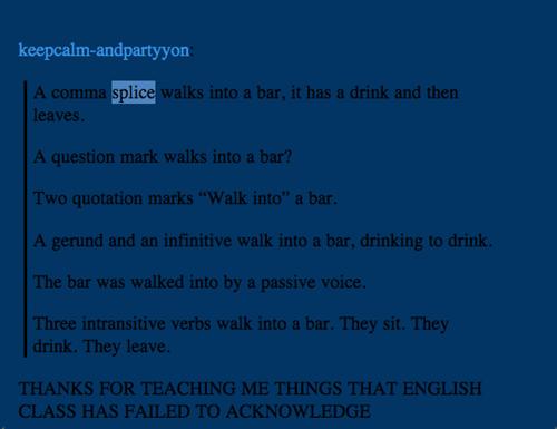 bar grammar english funny g rated School of FAIL - 7859574272