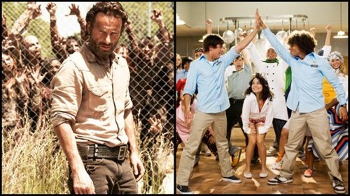 high school musical record books The Walking Dead - 7859614208