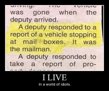 mailman idiots funny police - 7859648768