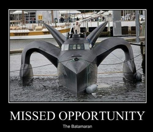 batman boat funny catamaran - 7859651328