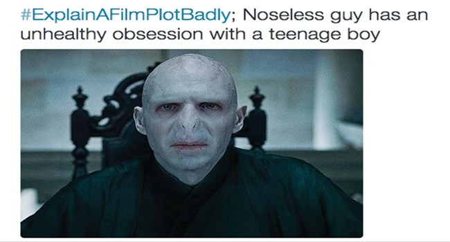 famous movies movies explain a movie poorly lol funny tweets funny - 7859717