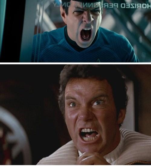 khan wrath of khan Spock kirk Star Trek - 7859725568