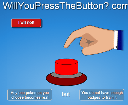 willyoupressthebutton,Pokémon