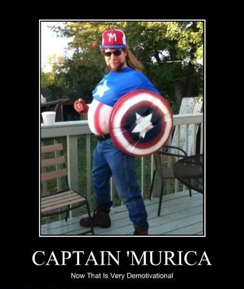 costume americana murica captain america funny - 7859772928