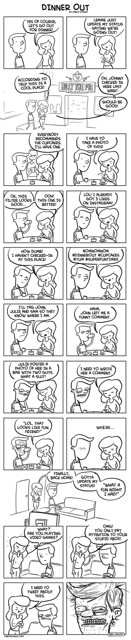 relationships social media the inevitable downfall of humanity funny web comics - 7859860224