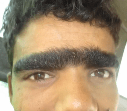 wtf eye brows unibrow funny bad puns - 7859861504
