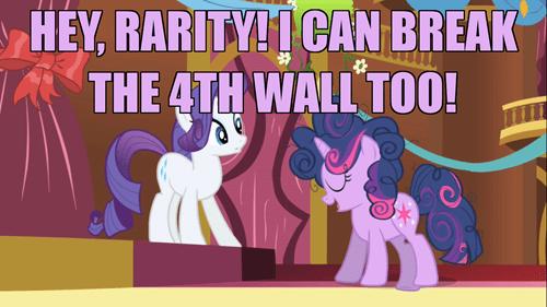 fourth wall twilight sparkle rarity - 7860639232