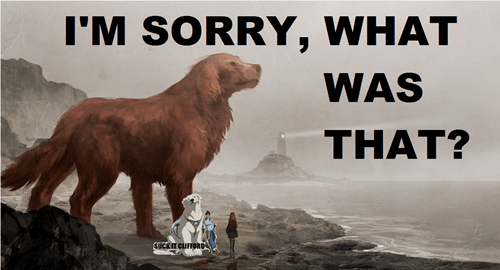 clifford the big red dog cartoons re-frames naga korra - 7861082880