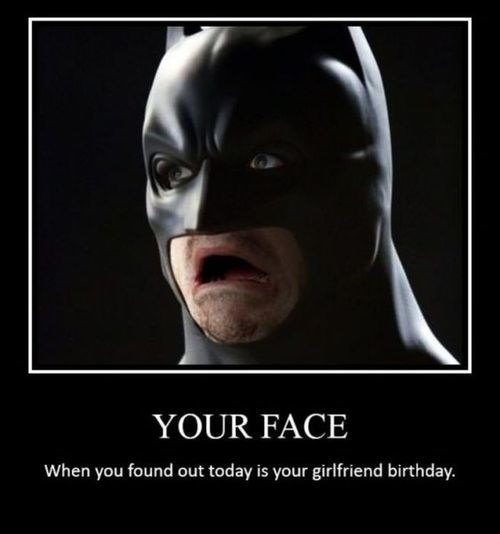 face screwed up batman funny