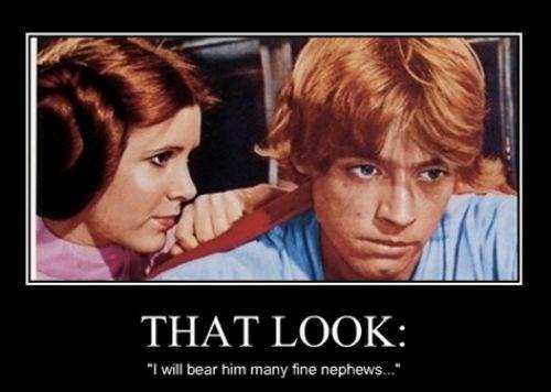 star wars luke skywalker funny Princess Leia - 7861197312