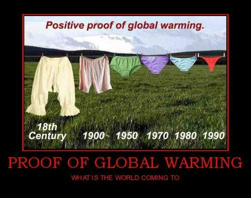 global warming funny underwear - 7861217280